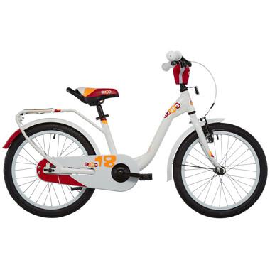 "Vélo Enfant S'COOL NIXE Alu 1V 18"" Blanc"